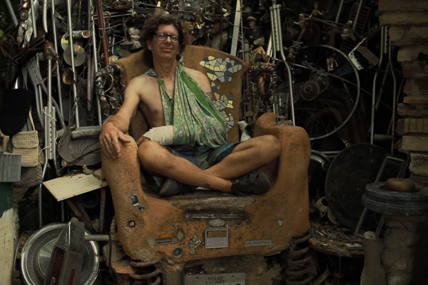 The Junk King: A Video About a Man That Collects a LOT of Trash