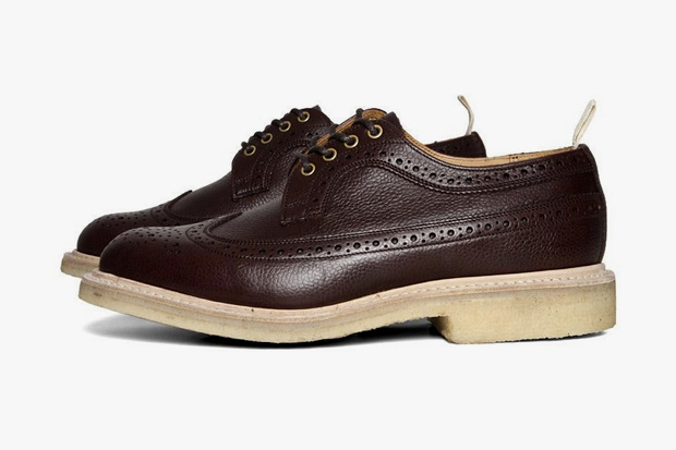 Tricker's for End Hunting Co. Zug Grain Long Wing Brogue