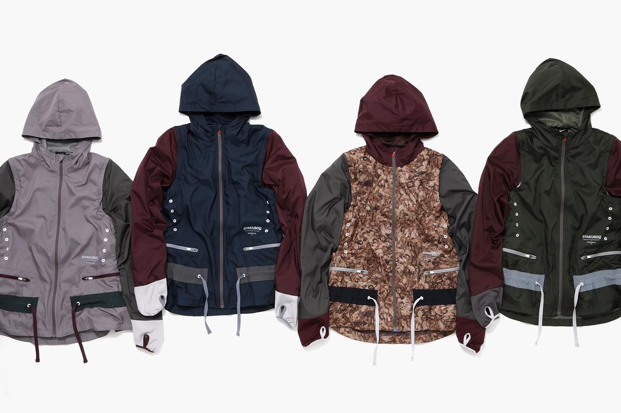 UNDERCOVER x Nike GYAKUSOU 2012 Fall/Winter Apparel Collection