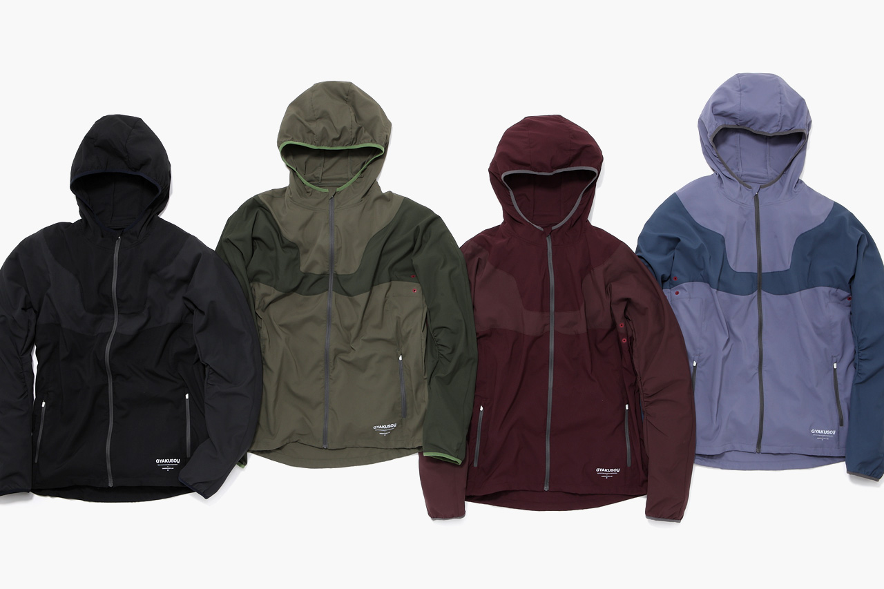 undercover x nike gyakusou 2012 fall winter apparel collection