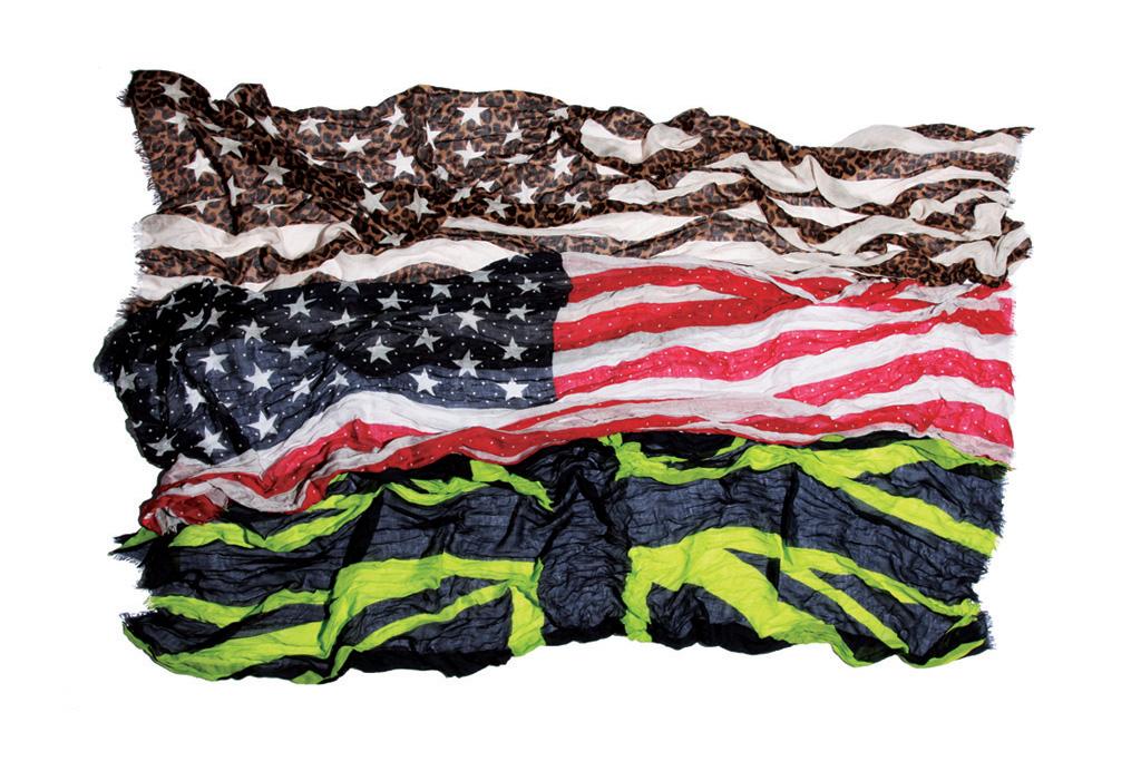 uniform experiment FLAG STOLE