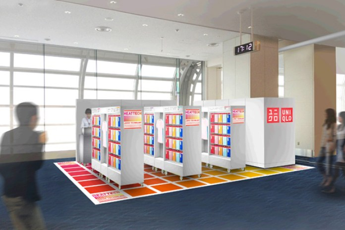 Uniqlo Launches Its First Duty-Free Pop-Up Store in Japan