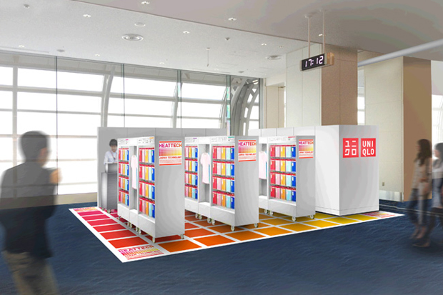 uniqlo launches its first duty free pop up store in japan