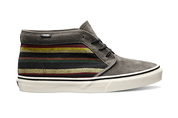 Vans California 2012 Fall Chukka Boot CA Guate Stripe