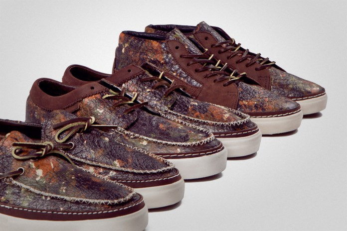 "Vans Vault 2012 ""Brushed Camo"" Pack"