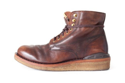 visvim 2012 Fall/Winter VIRGIL BOOTS CREPE-FOLK