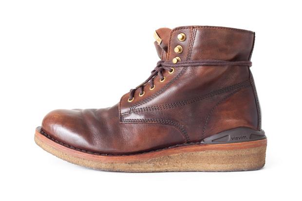 visvim 2012 fall winter virgil boot crepe