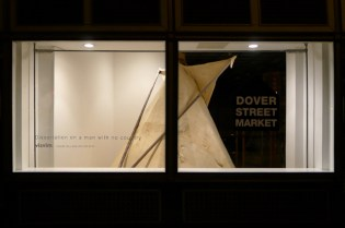 visvim Teepee Installation @ Dover Street Market