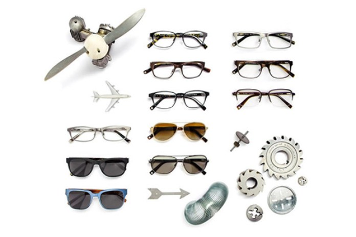 Warby Parker Titanium Collection