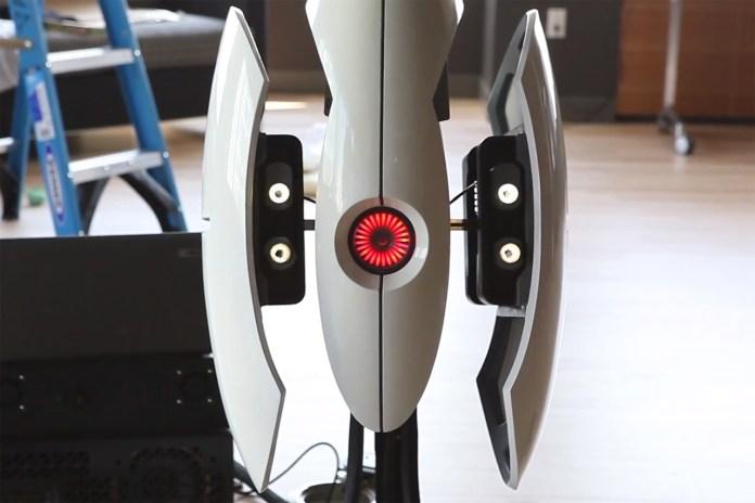 Weta Workshop Sends Valve a Life-Sized Half-Life Portal Turret