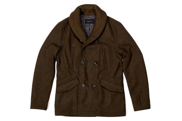 wings + horns for Holt Renfrew Shawl Collar Jacket