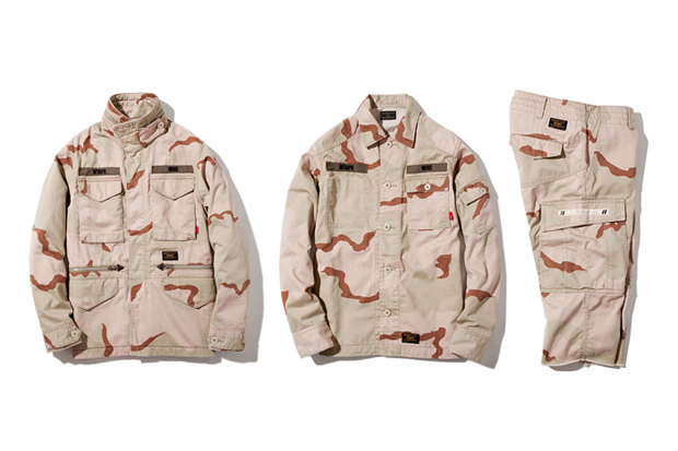 wtaps 2012 fall winter desert camo capsule collection