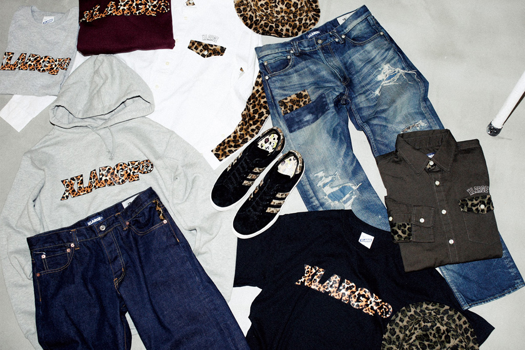 XLARGE 2012 Fall/Winter LEOPARD CAPSULE COLLECTION Preview