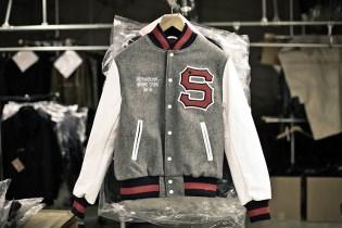 PROCESS: Stussy x Golden Bear of San Francisco Varsity Jacket
