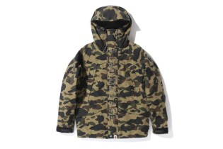 A Bathing Ape 1ST CAMO GORE-TEX SNOW BOARD JACKET