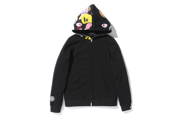 A Bathing Ape SHARK ZOOM ABC MULTI FULL ZIP HOODIE