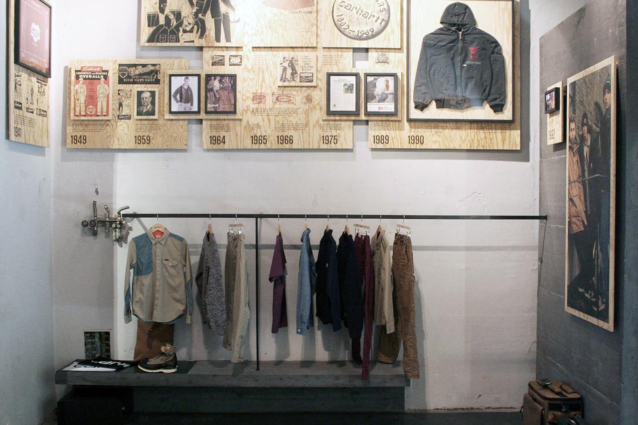 A Look Inside Carhartt WIP Milan