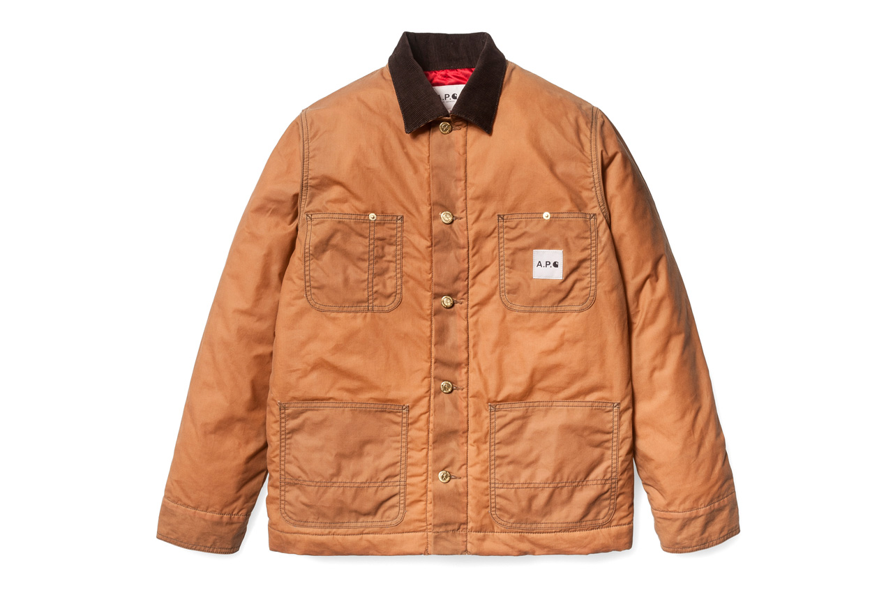 a p c x carhartt 2012 fall winter collection