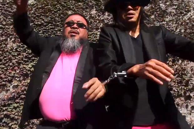 Ai Weiwei Parodies 'Gangnam Style'