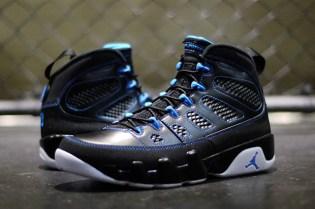 "Air Jordan 9 ""Photo Blue"" Retro"