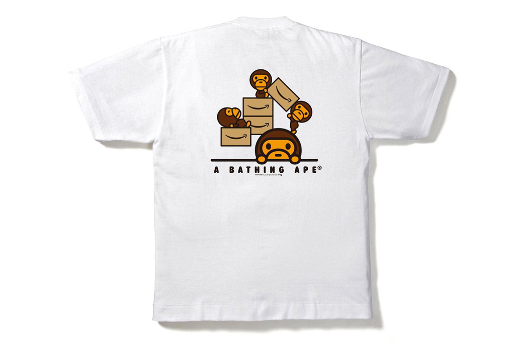 "Amazon x A Bathing Ape 2012 ""Amazon.co.jp"" T-Shirt"