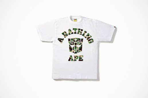 Transformers Prime x BAPE Capsule Collection