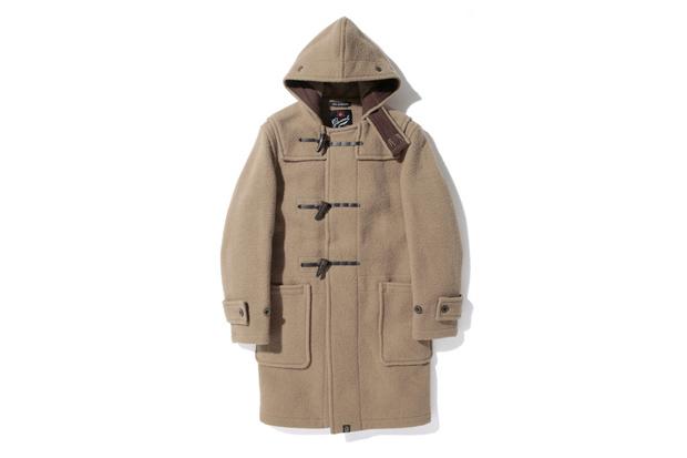 A Bathing Ape x Gloverall Monty Duffle Coat