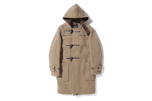 A Bathing Ape x Gloverall Monty Duffle Coat