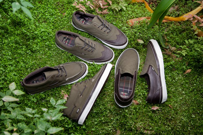 Barbour x Vans California Footwear Capsule Collection