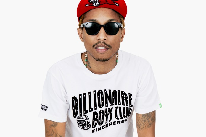 Billionaire Boys Club x Fingercroxx 2012 Fall/Winter 10th Anniversary Lookbook featuring Pharrell Williams