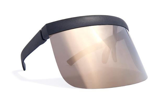 bernhard willhelm x mykita 2013 spring summer daisuke visor sunglasses
