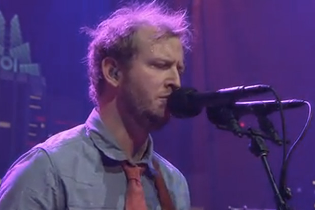 Bon Iver Performs On Austin City Limits