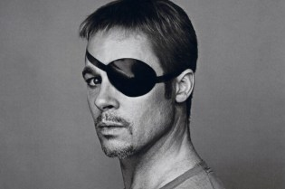 Brad Pitt Shows Multiple Personalities for Interview Magazine's October/November 2012 Issue