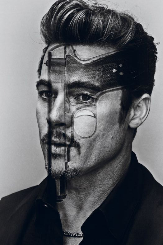 brad pitt shows multiple personalities for interview magazines october november 2012 issue