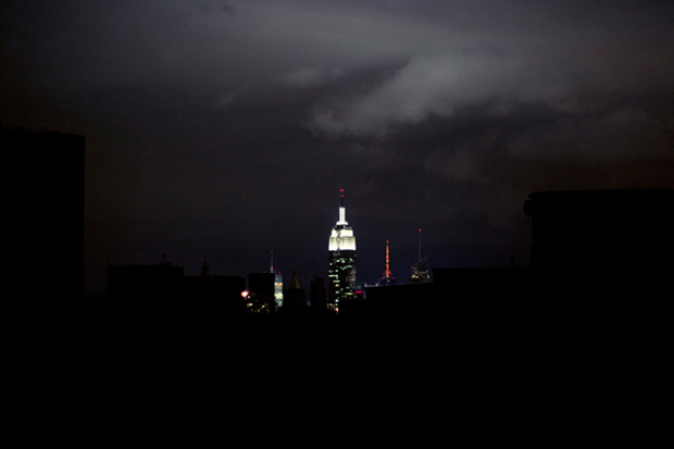 """Brian Kelley """"Into the Darkness"""" Photos from Hurricane Sandy"""