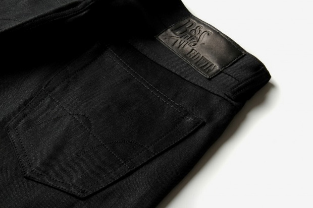 Burg & Schild x Edwin 14oz Black Selvedge Kaihara Denim