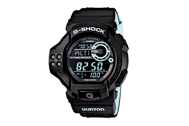 burton x casio g shock gdf 100btn 1jr watch