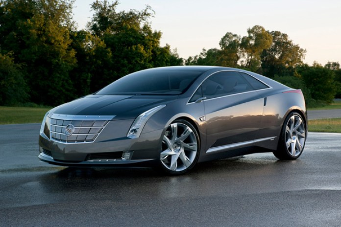 Cadillac ELR Electric Car