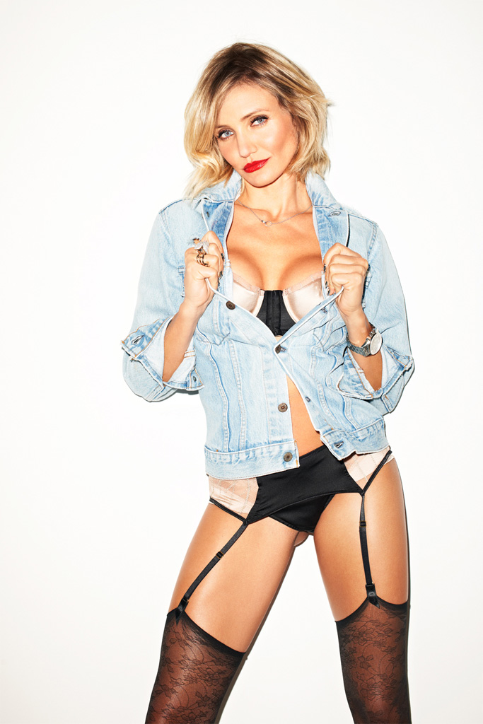Cameron Diaz by Terry Richardson for Esquire