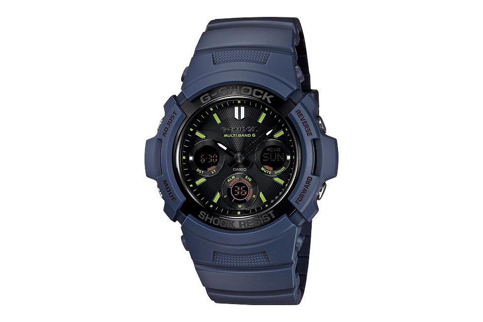 casio g shock navy blue pack