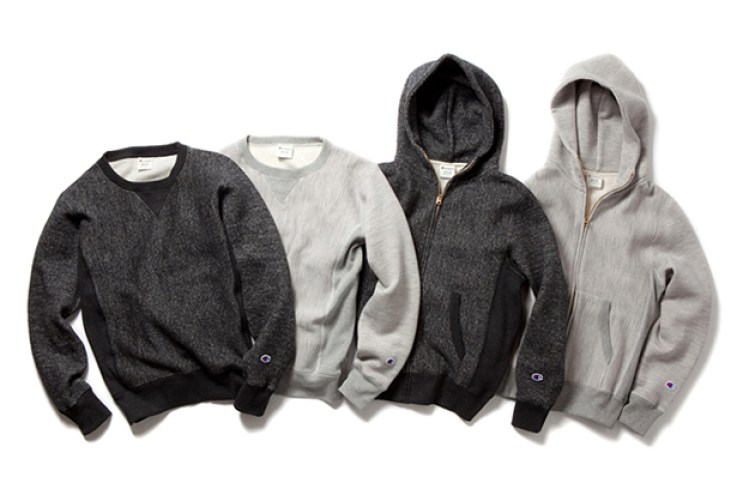 Champion 2012 Fall/Winter Reverse Weave Sweatshirt Collection