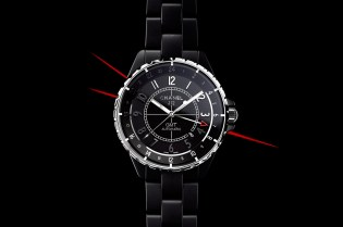Chanel 2012 J12 GMT Matte Black Watch