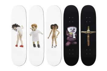 Chapman Brothers for Supreme Skate Decks