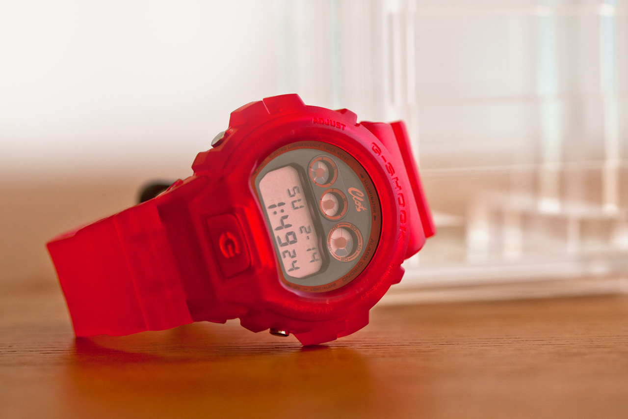 clot x casio g shock 2012 fall winter dw 6900 special edition