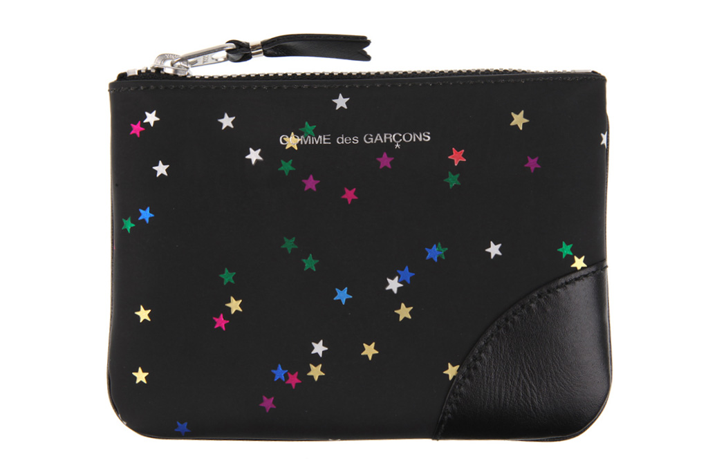 comme des garcons 2012 fall winter stars wallet collection