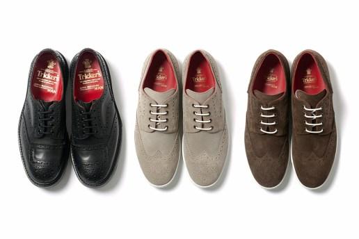 COMME des GARCONS JUNYA WATANABE MAN x Tricker's 2012 Suede Wingtip Sneakers