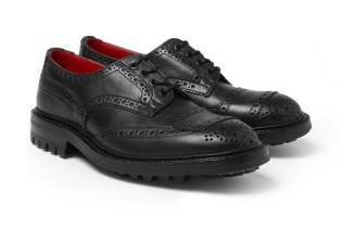 COMME des GARCONS JUNYA WATANABE MAN x Tricker's Leather Brogues
