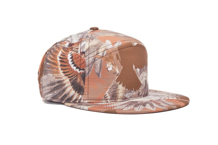 Common x Quintin 2012 Fall/Winter Sparrow Print Hubert Cap