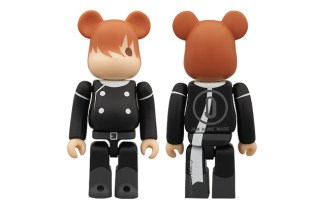 Cyborg 009 x JAM HOME MADE x Medicom Toy Bearbrick