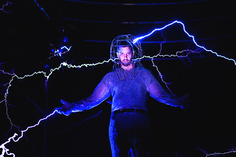 David Blaine's Craziest Stunt to Date Involves Being Electrified for 72 Hours
